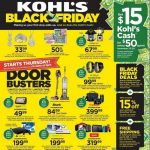Kohl's Black Friday Ad 2019 + $15 Kohl's Cash!!
