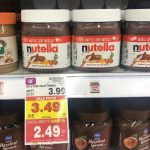 KROGER MEGA EVENT:  Nutella Hazelnut Spread ONLY $0.24!!