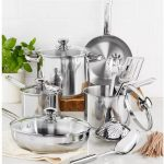 Tools of the Trade 13-Piece Stainless Steel Cookware Set Only $29.99 Shipped on Macys.com (Reg. $120)