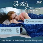 Quility Weighted Blanket ONLY $29.99(REG.$39.99)