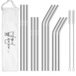 Hiware 12-Pack Reusable Straws! ONLY $6.95(Reg.$12)