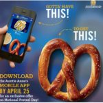 Free Pretzel at Auntie Anne's – Sign up by Today