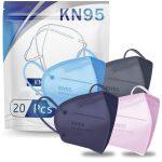 KN-95 Face Mask 20 PCS ONLY $4.92(Reg.$26)