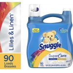 Snuggle SuperCare Liquid Fabric Softener 95 Ounce ONLY $5.47(Reg.$9.99)