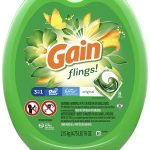 Gain Flings Laundry Detergent Pacs 96-Count ONLY $14(Reg.$24)