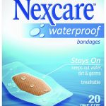Nexcare Waterproof Bandages 20-Ct ONLY $2