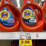 KROGER MEGA EVENT:  Tide Laundry Detergent ONLY $2.99 (reg. $7.99)